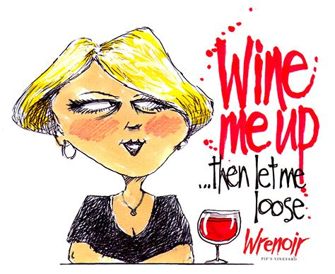 cartoon wine cartoon wrenoir wine