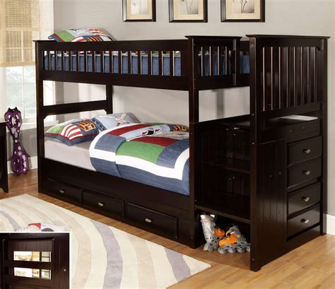 bunk bed coverlets bedding sweet heartland twin over bunk bed with torage and