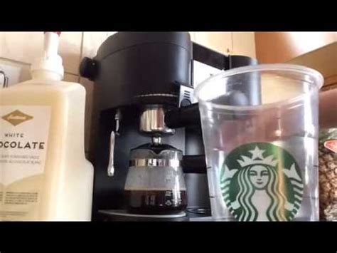 Starbucks Replica iced white chocolate mocha starbucks replica recipes