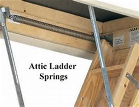 Attic Door Springs by Exceptional Attic Door Springs 3 Pull Attic Stairs