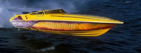 where are heyday boats made fountain powerboats moving forward boats
