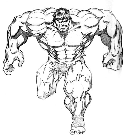 hulk coloring pages easy drawing of the hulk coloring home