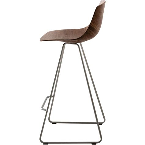 La Palma Miunn Bar Stool by Stool Miunn With Sled Base 65cm By Lapalma