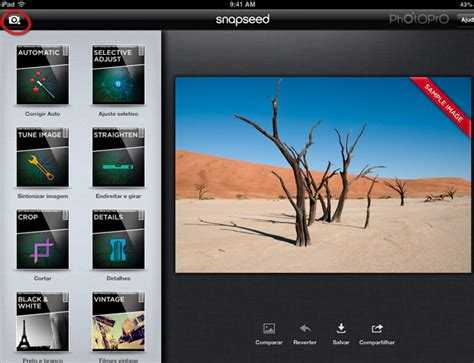 snapseed tutorial for ipad app para ipad snapseed photopro cursos online