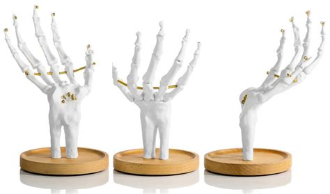 tattoo hand jewellery holder skeleton hand jewelry holder home decoration le dindon