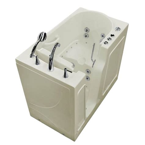 Walk In Whirlpool Bathtub by Universal Tubs 3 9 Ft Left Drain Walk In Whirlpool And