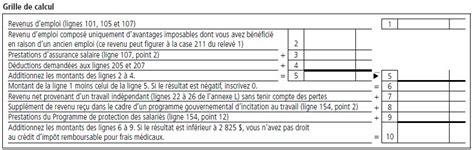 Grille Impot Revenu by Grille De Calcul De L Impot Sur Le Revenu 2012