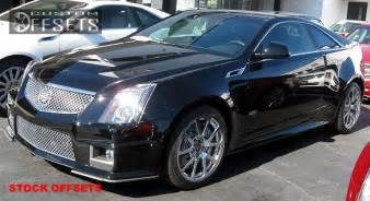 Wheeler Cadillac Wheel Offset 2011 2013 Cadillac Cts V Coupe Nearly Flush