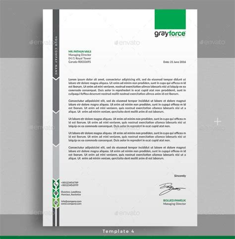 best 20 professional letterhead ideas on pinterest