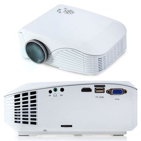 Proyektor Led geeek mini led projector beamer 130 inches geeektech