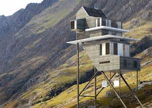 Futuristic Home Design Concepts Stilted Roost House Was Inspired By Calatrava And Le