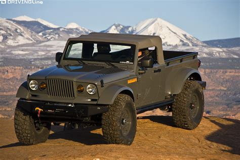 jeep wrangler pickup concept is the jeep pickup truck making a comeback drivingline