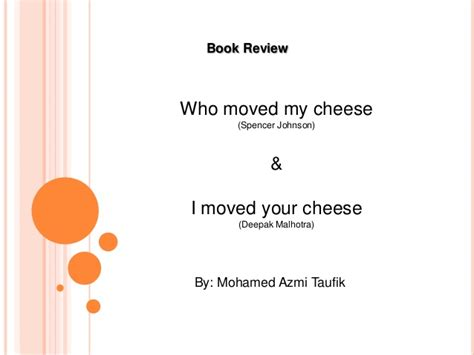 who moved my cheese book report 28 book report on who moved my cheese successful