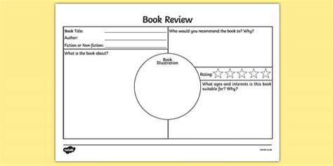 book review layout ks2 book review worksheet activity sheet book review book