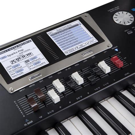 Keyboard Roland Bk 9 roland bk 9 76 note backing keyboard black at gear4music