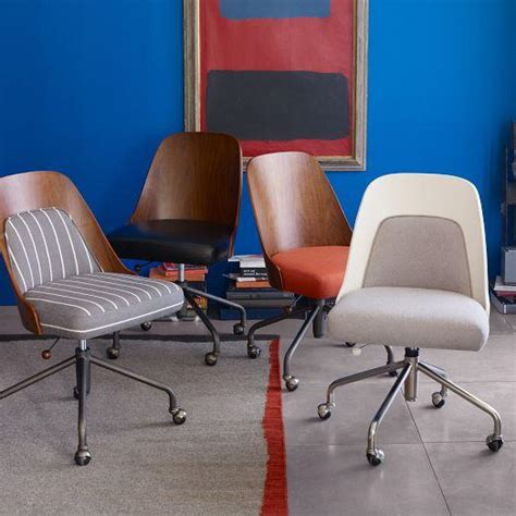 West Elm Desk Chairs by Bentwood Office Chair Cushion West Elm