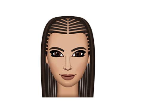 hairstyles emoji kim kardashian s kimoji hairstyles are totally inspired by