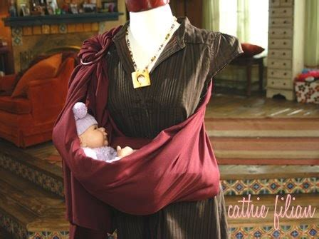 Handmade Baby Sling - cathie filian make it baby sling easy pattern