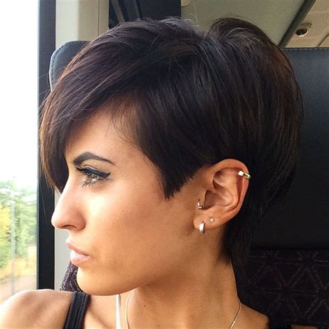 short hair longer on top and over ears pixie haircuts for thick hair 40 ideas of ideal short