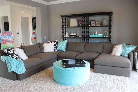 grey brown white living room blue and grey living room with brown l shape sofa decolover net