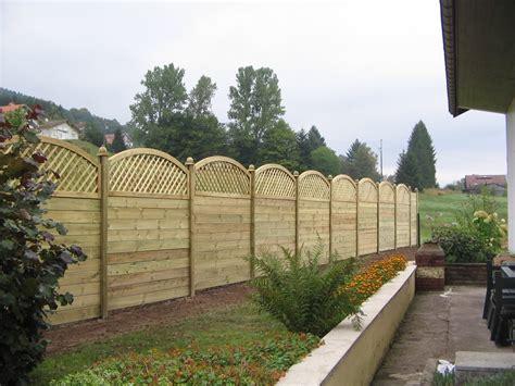 panneau pour cloture jardin panneau cloture bois wikilia fr