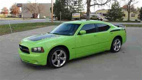 green daytona charger find used 2007 dodge charger r t daytona sublime green