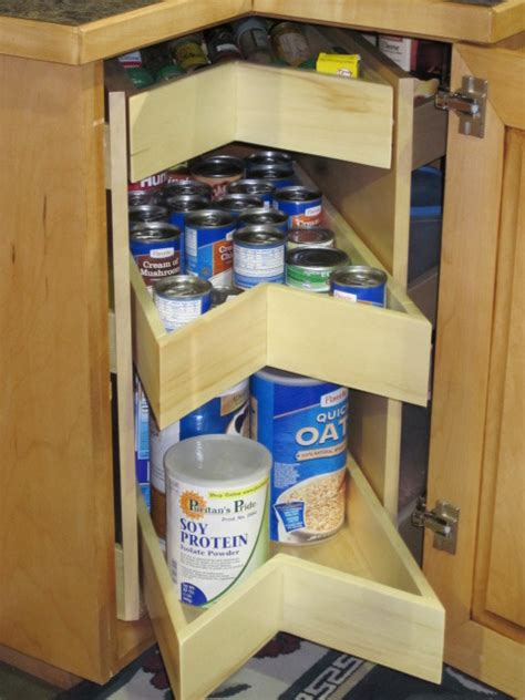 kitchen corner cabinet organizers kornerking corner pantry by school cabinets