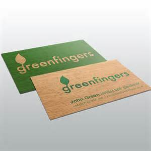 business cards printed on wood wood gift cards