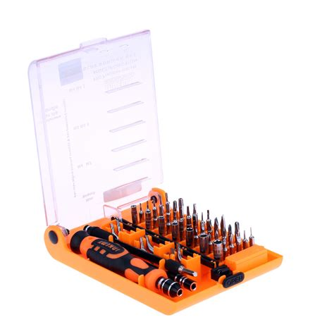 Jakemy 52 In 1 Jm 8150 Obeng Set Original 52 in 1 screwdriver repair tools kit jm 8150 for phones pc tornavida set mini destornillador