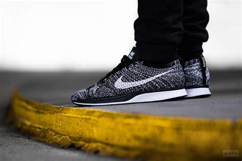 Nike Racer 1 0 Flyknit Oreo nike flyknit racer oreo 2 0 sweetsoles sneakers
