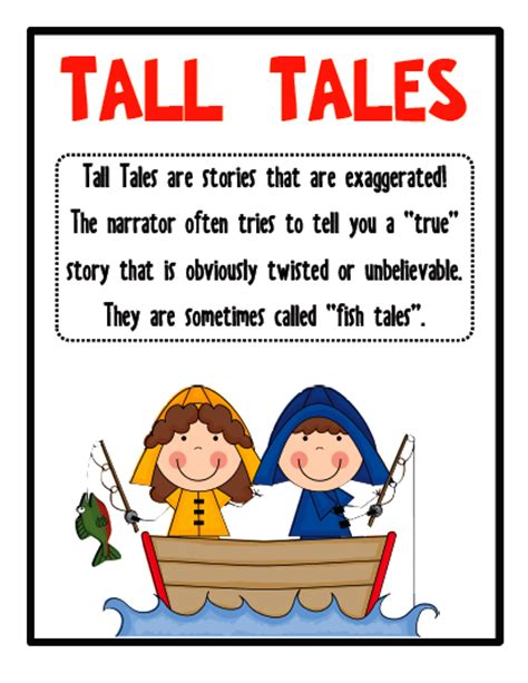 An American Folktale Of Exaggerations Sws24 Tales