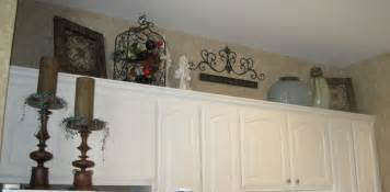 Decorating Over Kitchen Cabinets by Decorating Above My Cabinets Ideas Kitchen Cabinet