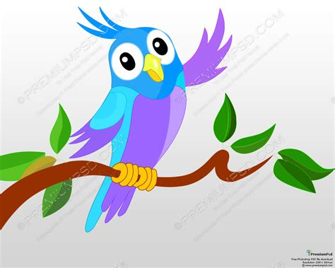 cartoon cockatiel cute cartoon parrot full free images at clker com
