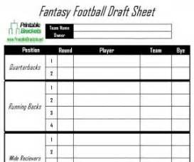 Draft Will Template by 25 Best Ideas About Football Draft Sheet On