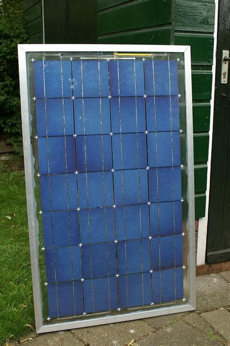 home made solar panel 9 steps with pictures