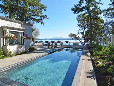 San Juan Island Cabin Rental by And Waterfront Estate Truly One Of A