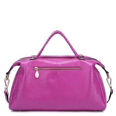 elizabeth handbag elizabeth series leather handbag purple