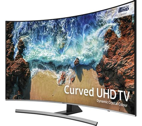 Samsung Curved Tv by Buy Samsung Ue55nu8500 55 Quot Smart 4k Ultra Hd Hdr Curved