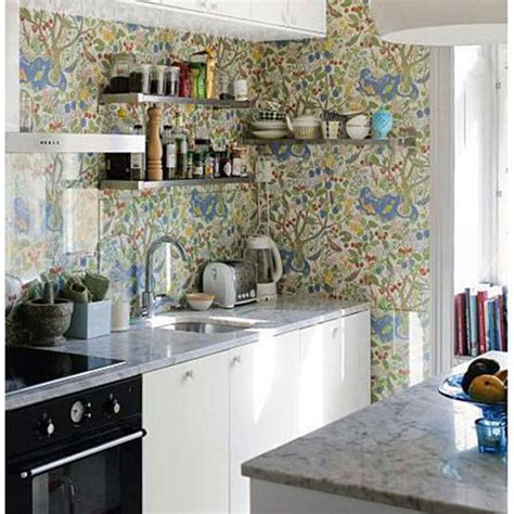 wallpaper in kitchen ideas kitchen wallpaper ideas
