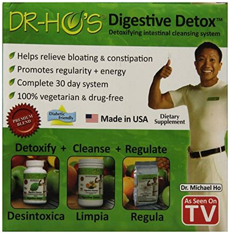 Dr Ho Herbal Detox by Dr Ho S 30 Day Digestive Detox 30 Count Health Point