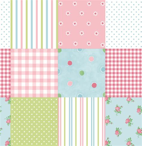 Pink Patchwork - brewster patchwork pink patchwork wallpaper tools