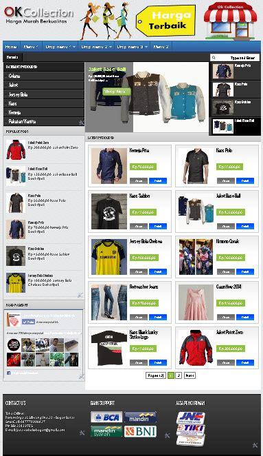 template blogger toko online tanpa cart toko online blogspot tanpa cart jasa pembuatan website