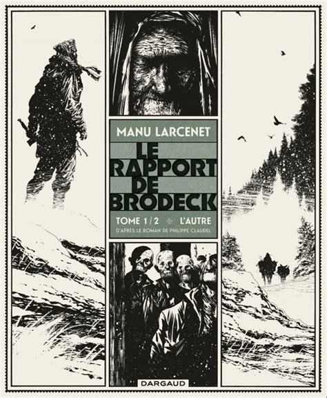 libro le rapport de brodeck rapport de brodeck le tome 1 autre l bd 201 ditions dargaud