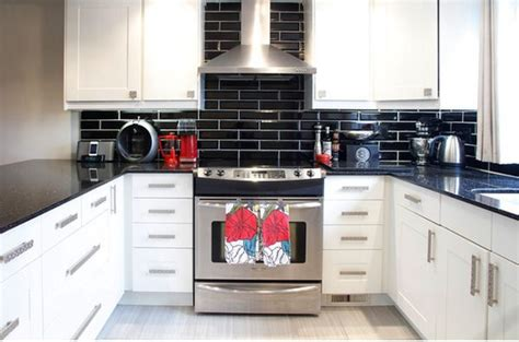 black and white kitchen backsplash kitchen subway tiles are back in style 50 inspiring designs