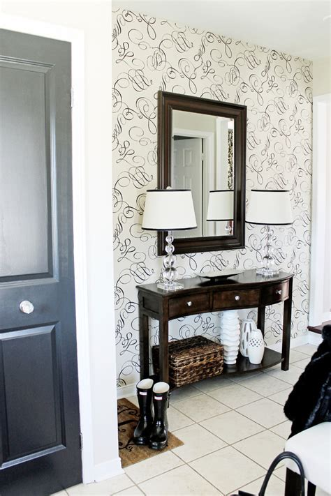 entryway furniture ideas Entry Rustic with armoire