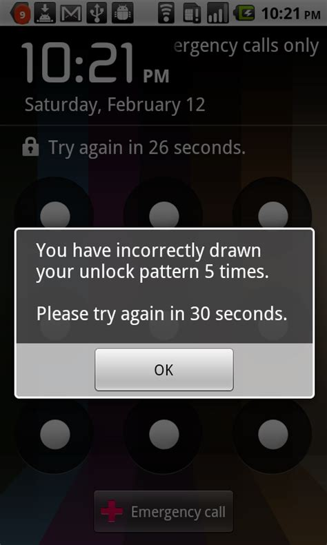 pattern password disable footer is wrong tip accidentally set unlock pattern on your android here