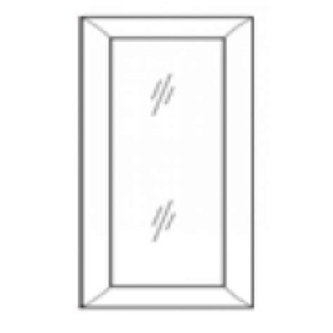 Shaker Glass Cabinet Doors W3636gd White Shaker Wall Glass Door Rta Rta Kitchen Cabinets