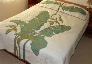 king sz hawaiian patchwork quilt hawaii bedding comforter