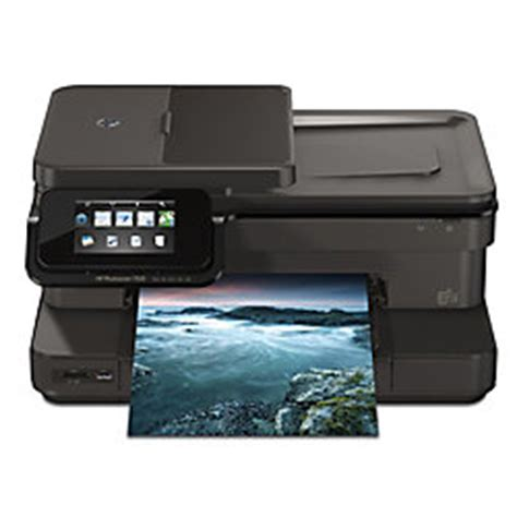 Office Max Printer by Hp Photosmart 7520 E All In One Printer By Office Depot