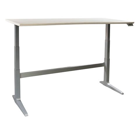 Haworth And Workrite Used Electric Lifting Table White